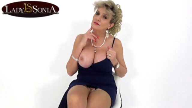 JOI fun with beautiful busty mature Lady.. blonde mature pornstar