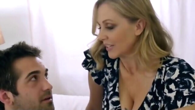 Julia Ann and Donnie Rock - ROLEPLAY.. american big tits blonde