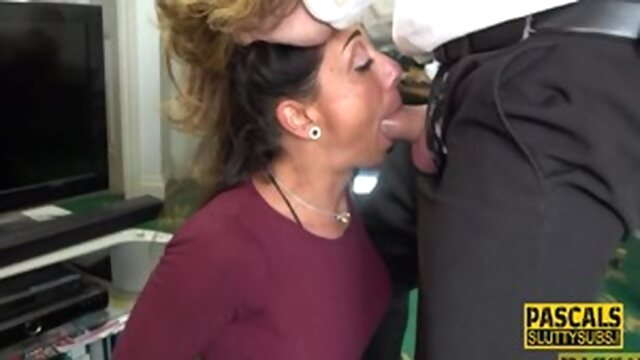 Throating Busty Milf Sub Gets Fucked.. hardcore tattoo anal