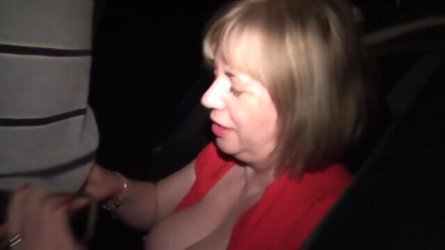 Dogging in UK blowjob mature handjob