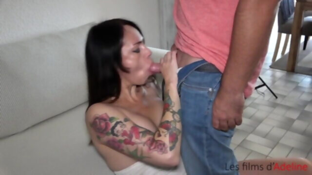 DAP with dildo, huge toy and intense.. anal hardcore facial