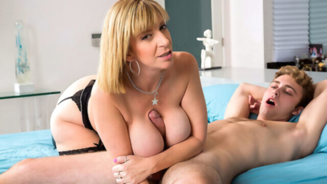 Busty Milf Sara Jay Seduces Her Son's.. american big ass big tits