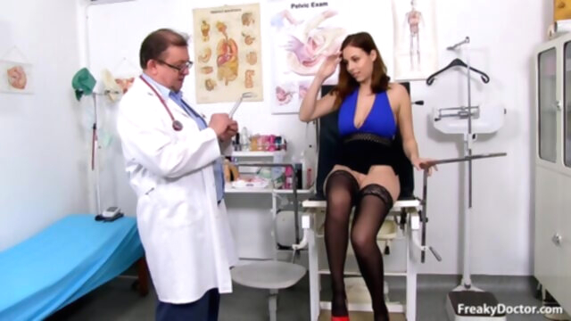 Antonia Sainz Gyno Exam big tits fetish hd