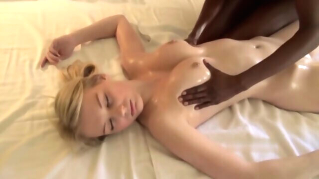 Astonishing Adult Movie Blonde Try To.. african blonde brunette